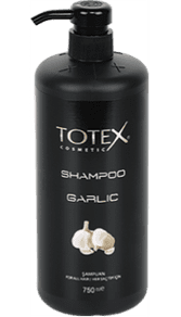 Totex hvidløg shampoo 750ml